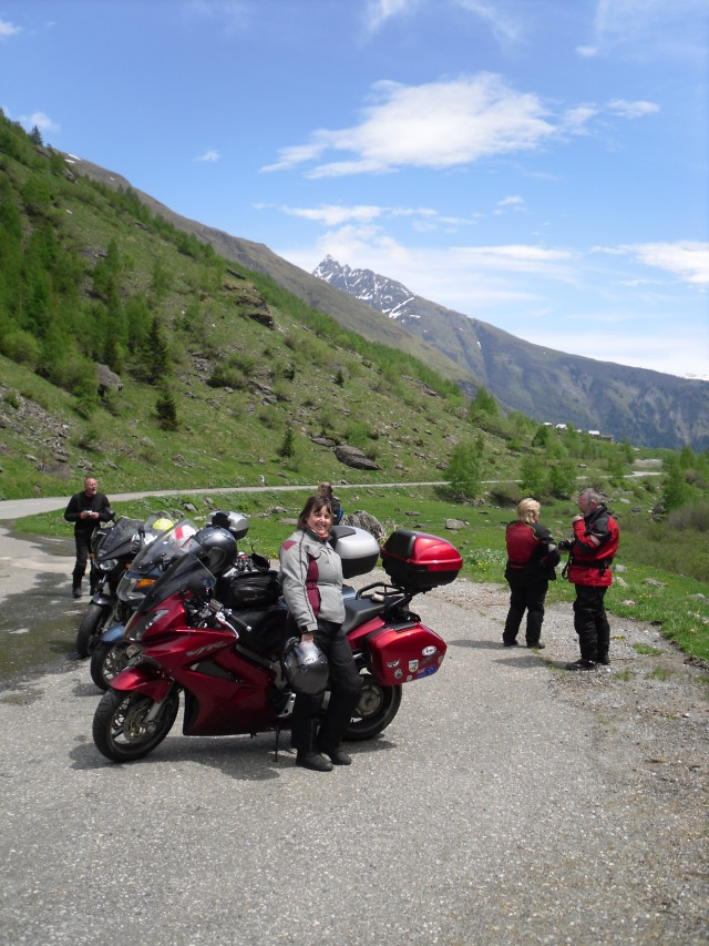 Rideout round Bourg St Maurice
