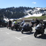 Coffee Stop & Snow on them there hills